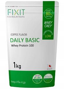 FIXIT ホエイ プロテイン【DAILY BASIC】 コーヒー