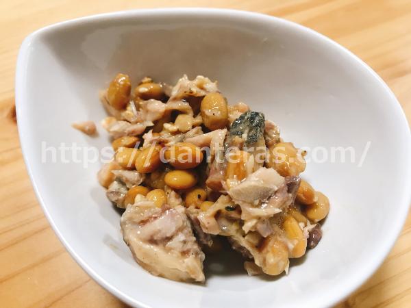 鯖缶の納豆和えの作り方