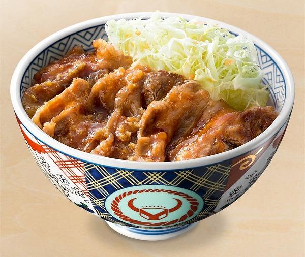 カルビ生姜丼