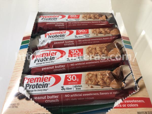 Premier Protein・プロテインバー12本入り