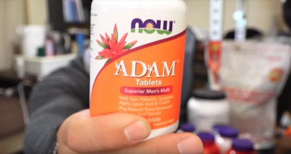 ADAM(マルチビタミン&ミネラル)【ナウフーズ】