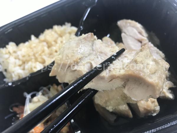 マッスルデリの鶏肉